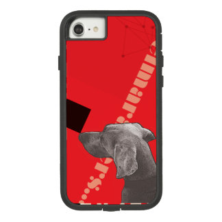 RED GRAPHIC WEIM IPHONE CASE BY BLU WEIM