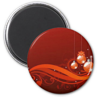 Red graphics for Christmas - Magnets