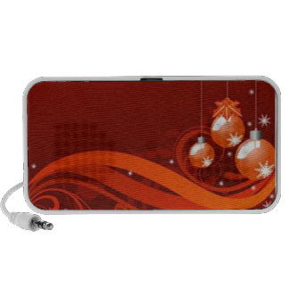 Red graphics for Christmas - iPhone Speaker