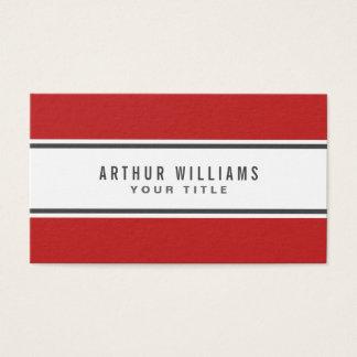 Red gray border modern stylish white professional