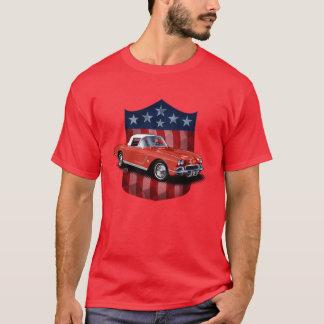 Red great American Shield Stingvetteray T-Shirt