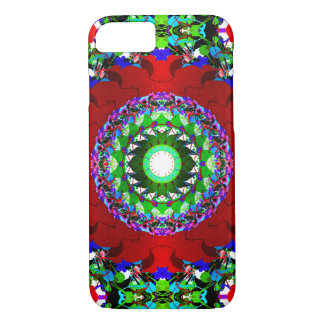 Red Green And Blue Circles iPhone 7 Case