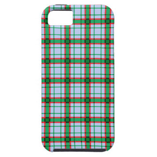 Red, Green and Blue Plaid iPhone 5 Cases