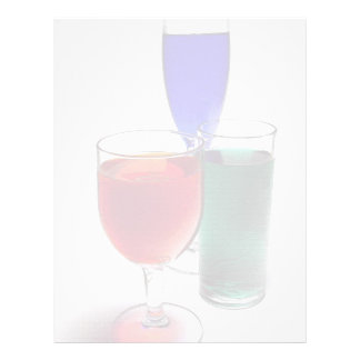 Red Green Blue drinks Flyer