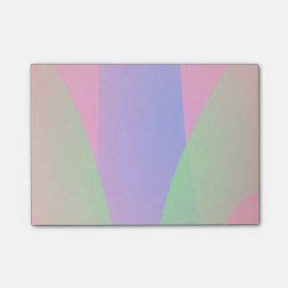 Red Green Blue Vivid Abstract Art Post-it® Notes