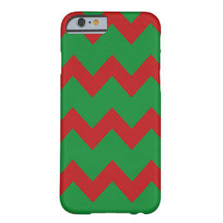 Red Green Chevrons Case Barely There iPhone 6 Case