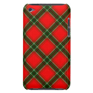 red & green christmas plaid iPod Case-Mate cases