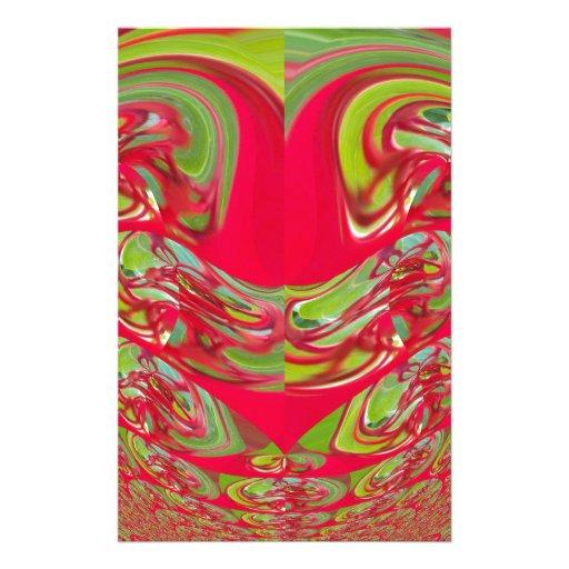 Red & Green Flora Vintage Hakuna Matata Gifts Stationery