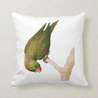 Red Green Parrot Throw Cushion
