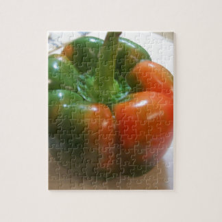 Red & Green Pepper Jigsaw Puzzles