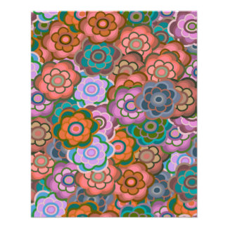 Red-Green-Purple Flowers Thin Paper Bulk Buy