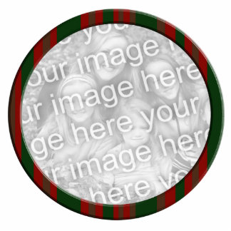red green striped photo frame photo sculpture decoration