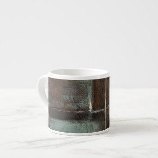 Red & Grey Brick Wall Espresso Mug