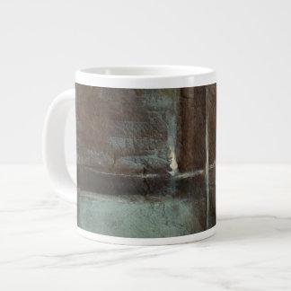 Red & Grey Brick Wall Jumbo Mug
