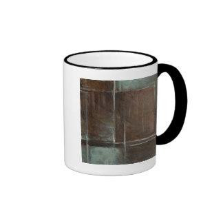 Red & Grey Brick Wall Ringer Mug