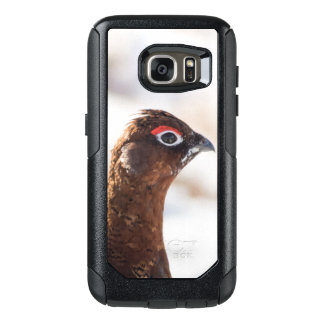 Red grouse OtterBox samsung galaxy s7 case