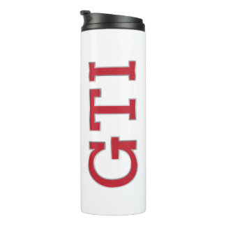 Red GTI badge Thermal Tumbler