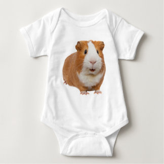 red guinea pig baby bodysuit