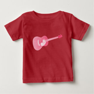 Red Guitar Baby T-Shirt