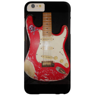 Red Guitar Barely There iPhone 6 Plus Case