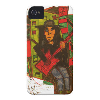 Red Guitar Blackberry Bold Covers
