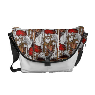 red-haired courier bags