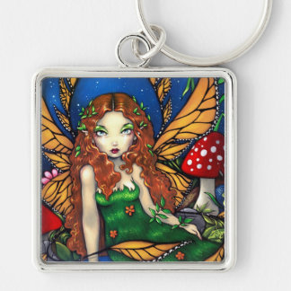 """""""Red Haired Fairy Queen"""" Keychain"""