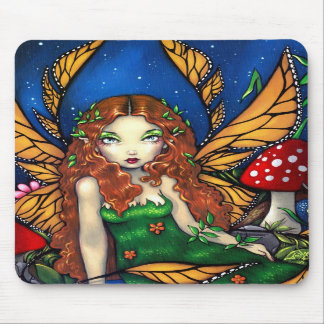 """""""Red Haired Fairy Queen"""" Mousepad"""