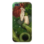 Red Haired Mermaid Cover For iPhone 5