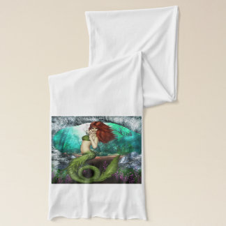 Red Haired Mermaid Scarf