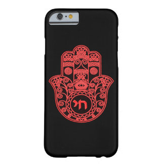 Red Hamsa Symbol Barely There iPhone 6 Case