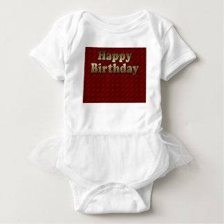 Red Happy-birthday #2 Baby Bodysuit