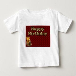 Red Happy-birthday Baby T-Shirt