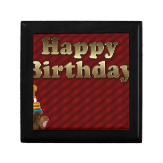 Red Happy-birthday Gift Box
