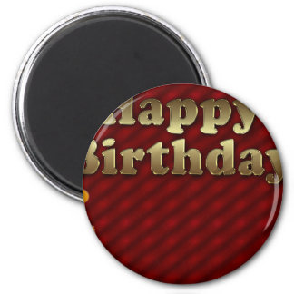 Red Happy-birthday Magnet