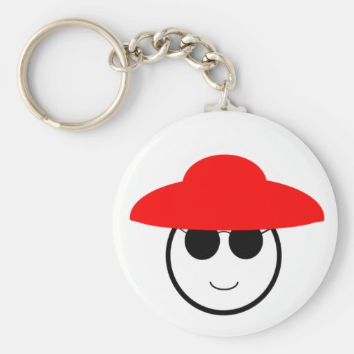 Red Hat Key Chain