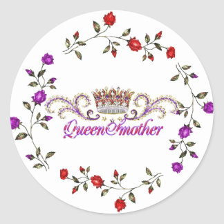 red hat queen sticker