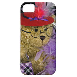 Red Hat Teddy Bear iPhone 5 Cover