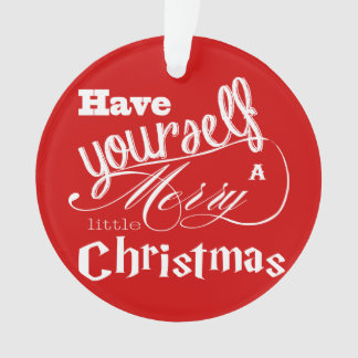 Red Have Yourself a Merry Little Christmas