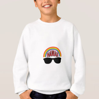 red hawaii shades sweatshirt