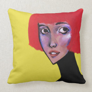 Red Head Pillow