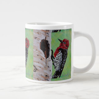 Red Headed Woodpecker Coffee Cup