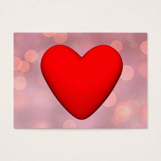 Red heart - 3D render