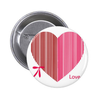 red heart as a gift for a St Valentine s Day Pin