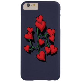Red Heart Barely There iPhone 6 Plus Case