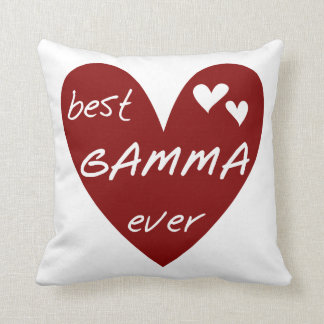 Red Heart Best Gamma Ever Gifts Cushion