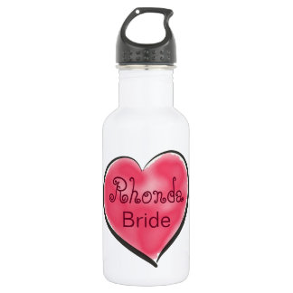 Red Heart Bride 532 Ml Water Bottle