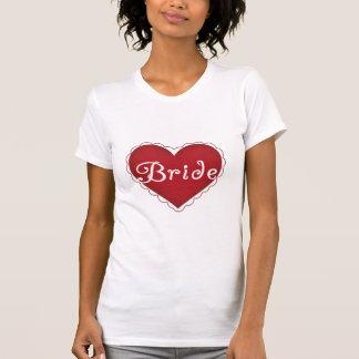 Red Heart Bride T-Shirt