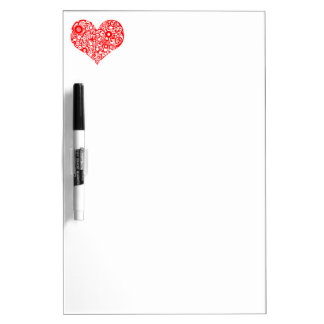 Red Heart Dry Erase Board