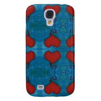 Red Heart iPhone 3G Case Galaxy S4 Case